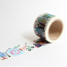 Washi Tape Primaute (Wide) - Canal & Street