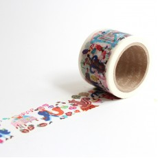 Washi Tape Primaute (Wide) - Concert in the Forest