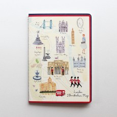 Aimez Le Style A5 Notebook - London Map