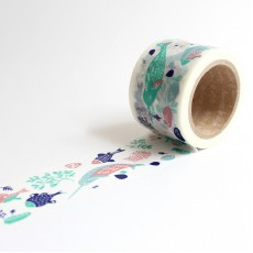 Washi Tape Primaute (Wide) - Sea Creatures
