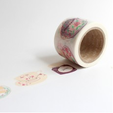 Washi Tape Primaute (Wide) - Tea & Cake