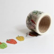 Washi Tape Primaute (Wide) - Vegetable