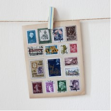 Vintage Stamp Stickers - Europe