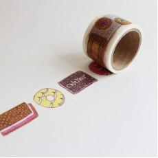 Washi Tape Primaute (Wide) - Biscuits
