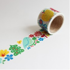 Washi Tape Primaute (Wide) - Finnish Flower