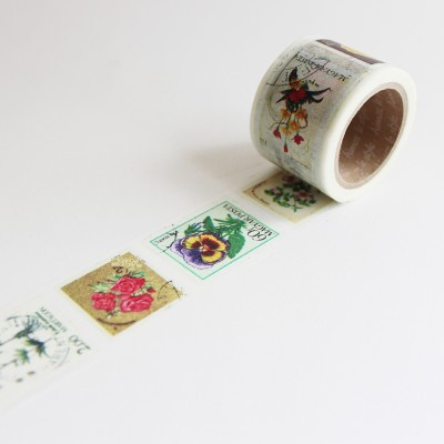 Washi Tape Primaute (Wide) - Vintage Stamp