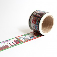 Washi Tape Primaute (Wide) - World Landscape