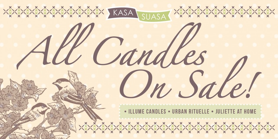 Candles on discount