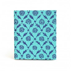 Blue Pattern Pocketbook