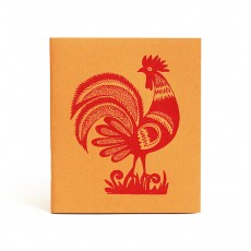 Folk Rooster Pocketbook