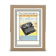Vintage Typewriter Bookplates