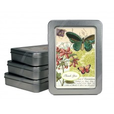 Flora & Fauna Butterflies Thank You Notes