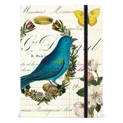 Bird Notebook with Elastic Band