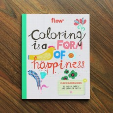 Flow Coloring Book - Coloring is a form of happiness