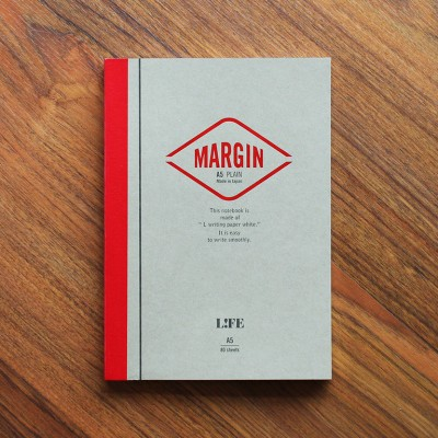 Life Margin Notebook - A5 Plain