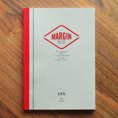 Life Margin Notebook - B5 Plain