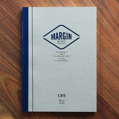 Life Margin Notebook - B5 Ruled