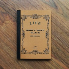 Life Noble Notebook A5 (Plain)