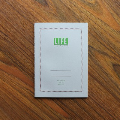 Life Pistachio Notebook B6 (5mm Section)