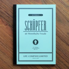 Life Schopfer Notebook B5 (Plain)