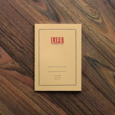 Life Vermilion Notebook B6 (5mm Section)