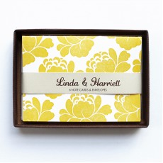 Blooms (Yellow) Note Cards