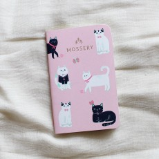 Pocket Notebook - Cats Pink