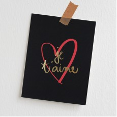 Garance Doré Collection - Je T'aime Love Greeting Card
