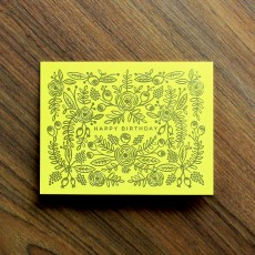 Limoncello Birthday Card