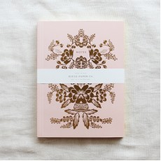 Everyday Notebook - Rorschach Set of Two with Gold Accents