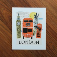 Travel London Art Print (8x10 in)