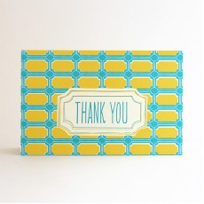 Pembroke 18 Thank You Cards - 8 pcs
