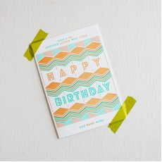 Social Card - Happy Birthday (Here's To Another Layear Well Lived)