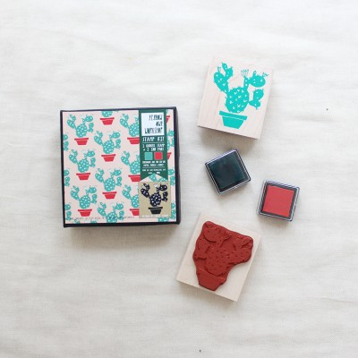 Cactus Pattern Stamp Kit