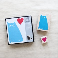 Cat Love Stamp Set