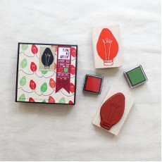 Holiday Light Pattern Stamp Kit