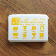 Stamp Ink Pad - Yellow