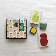 Pineapple Pattern Stamp Kit