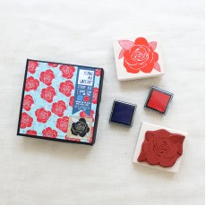 Rose Pattern Stamp Kit