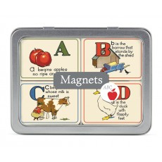 ABCs 24 Magnets in Tin