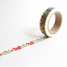 Washi Tape Primaute (Regular) - Folk Art Nature