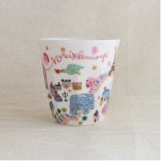 Melamine Tumbler - Paris Map