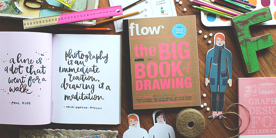 Flow Big Drawing Book