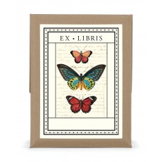 Butterflies Bookplates