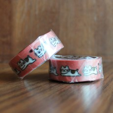 Washi Tape - Healing Cat Kune Kune
