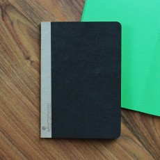 Thread Sew Scout Book - Dark Green Color paper Inlay