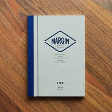 Life Margin Notebook - A5 Ruled
