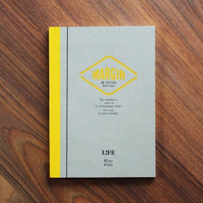 Life Margin Notebook - A5 Section