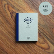 Life Margin Notebook - Semi B7 Ruled