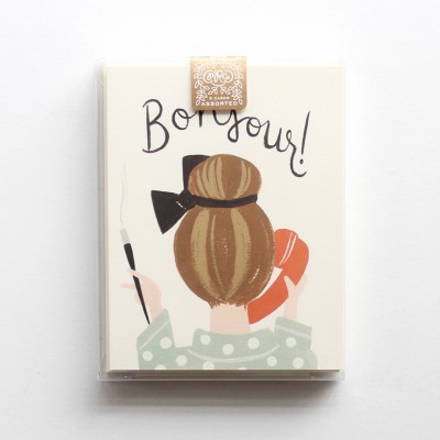 Everyday Assorted Card Set - French